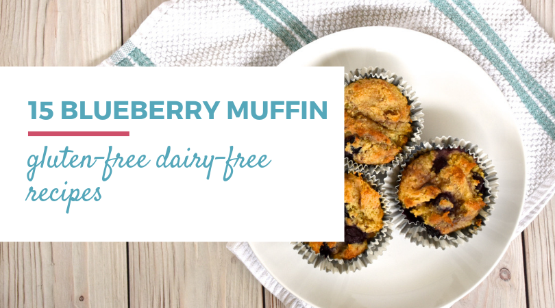 15 Gluten-free Dairy-free Blueberry Muffin Recipes