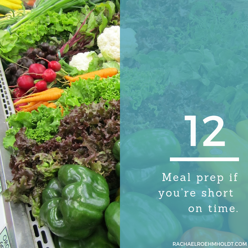 Gluten and Dairy-free Diet: 15 Tips to Stay Healthy // 12. Meal prep if you're short on time