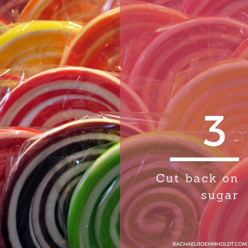 Gluten and Dairy-free Diet: 15 Tips to Stay Healthy // 3. Cut back on sugar