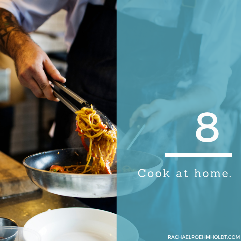 Gluten and Dairy-free Diet: 15 Tips to Stay Healthy // 8. Cook at home