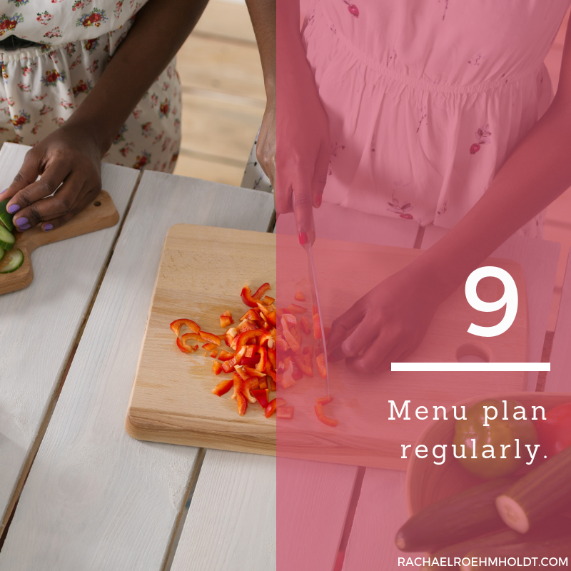 Gluten and Dairy-free Diet: 15 Tips to Stay Healthy // 9. Menu plan regularly