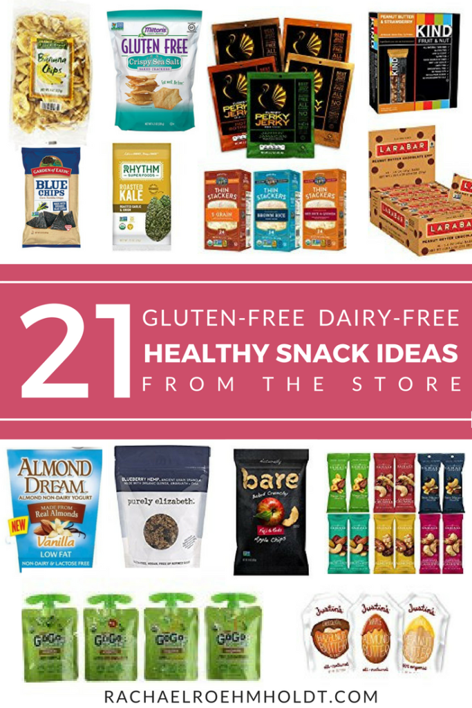 21 Gluten-free Dairy-free Healthy Easy Snack Ideas from the Store