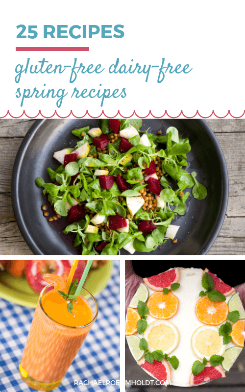 Looking for some spring recipes for your gluten-free dairy-free diet? Check out these 25 awesome recipes by clicking through to read the full post.