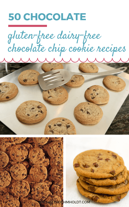 Are you a fan of chocolate chip cookies, but need a gluten-free dairy-free recipe to suit your diet? Check out this recipe roundup posts with 50 gluten-free dairy-free chocolate chip cookie recipes, including classic, oatmeal, healthy, almond flour, and peanut butter chocolate chip cookie variations!