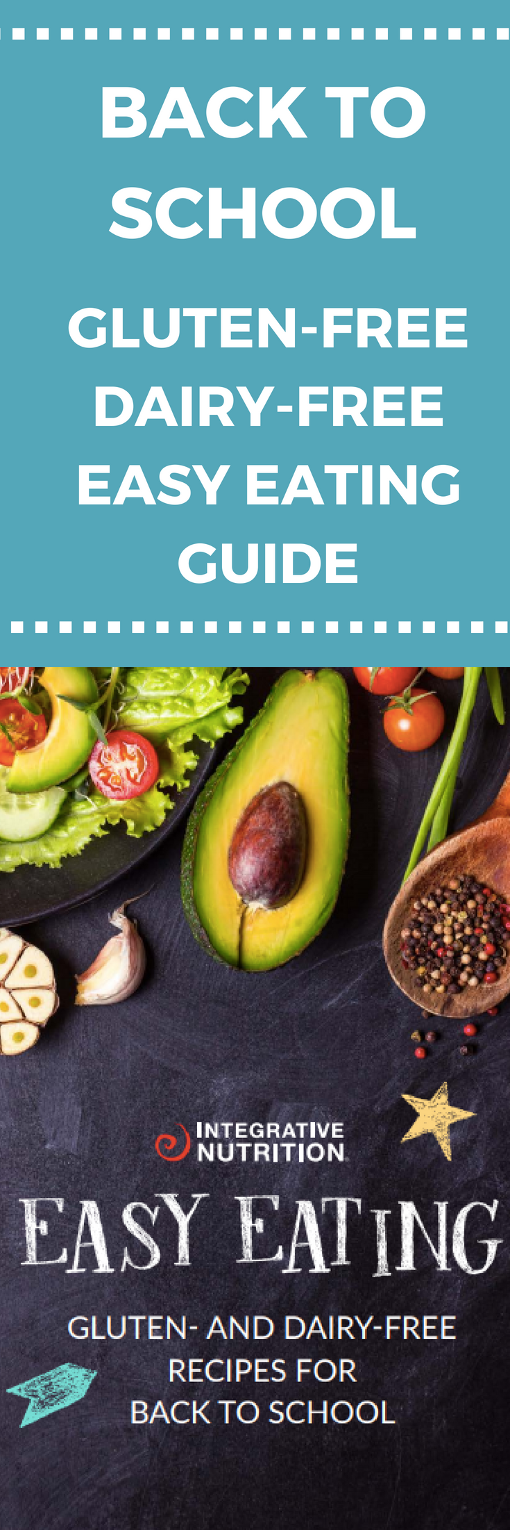 Get gluten-free dairy-free tips and recipes for back to school season with the Back to School Easy Eating Guide. Click through for instant access!