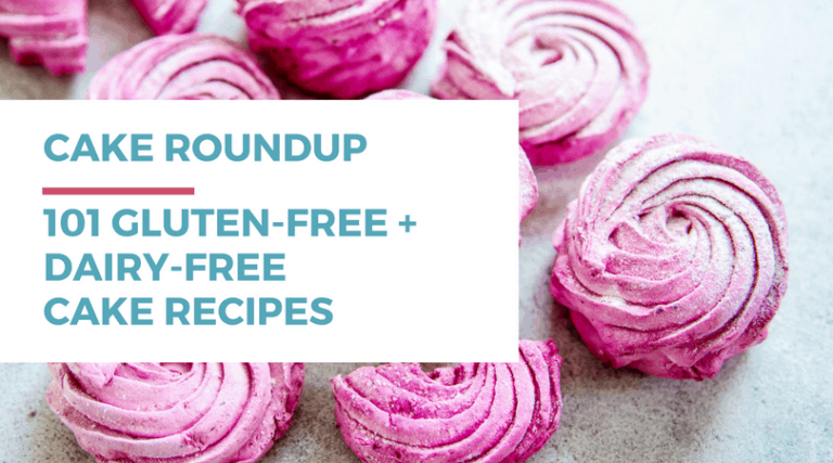 101 Gluten-free Dairy-free Cake Recipes