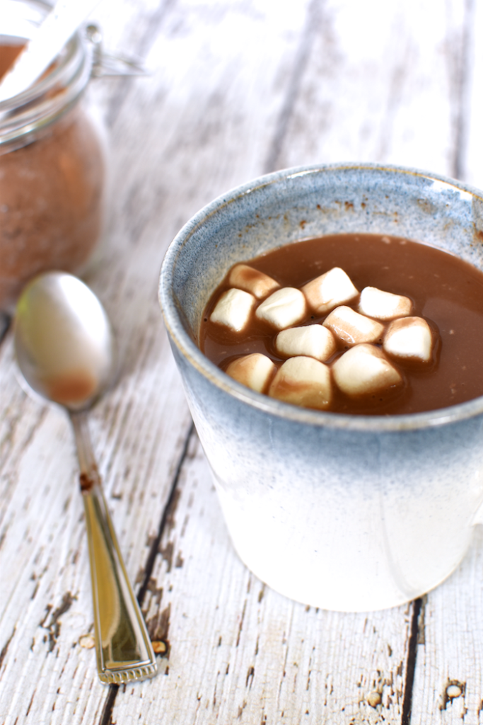 Hot chocolate and hot cocoa is perfect in the cold months, but what about a dairy-free version? Click through to make your own dairy-free hot chocolate mix at home - plus learn 7 flavor variations to make it your own!
