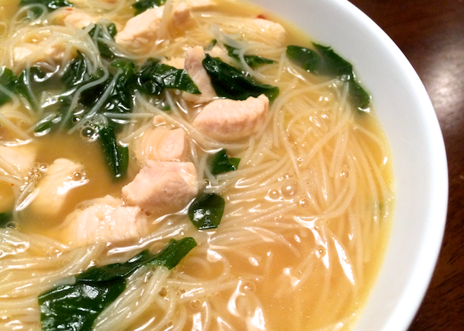 Ramen-Style Noodle Soup For A Cold Winter Day | RachaelRoehmholdt.com