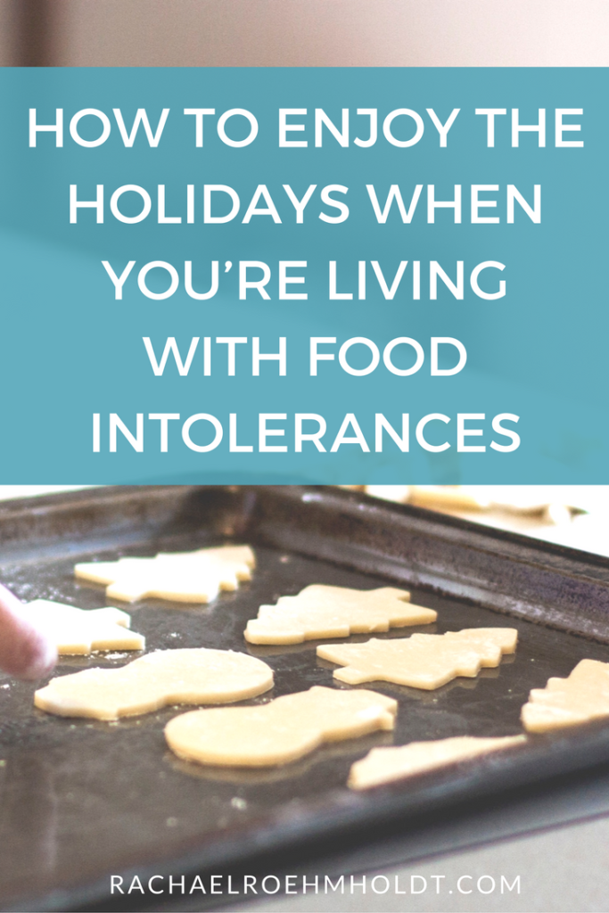 Do you have food intolerances to gluten or dairy? Thanksgiving, Christmas or the holidays in general just getting you down? Check out this post to find out how to enjoy the holiday season and all the glorious food while you're learning how to eat a gluten-free dairy-free diet!