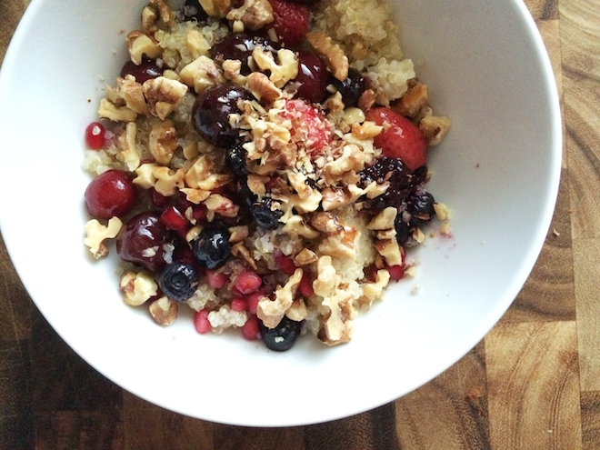 Quinoa Breakfast Bowls For Busy Mornings