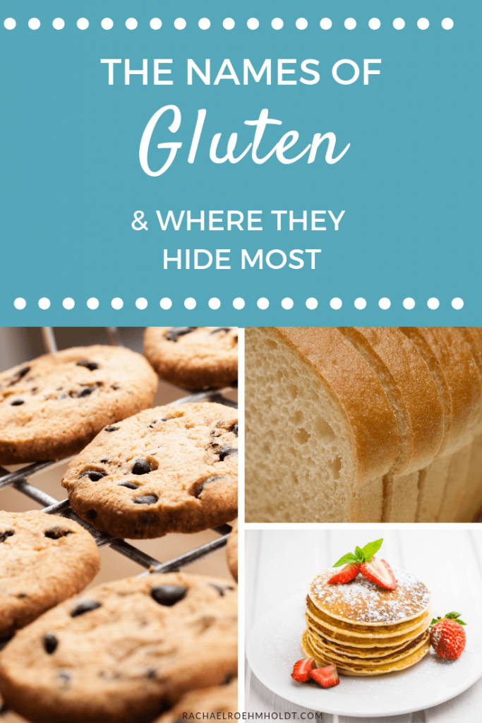 The Many Names of Gluten and Where They Hide Most