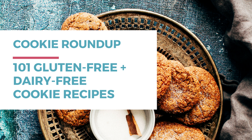 101 Gluten-free Dairy-free Cookie Recipes