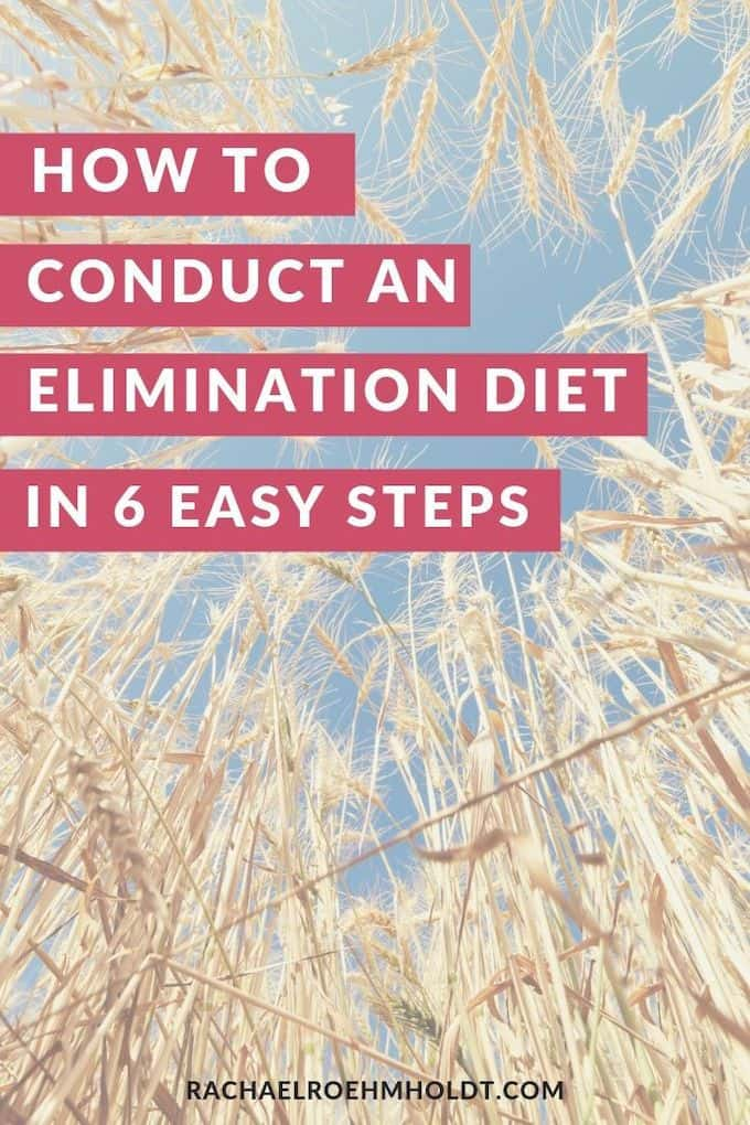 How to conduct an elimination diet