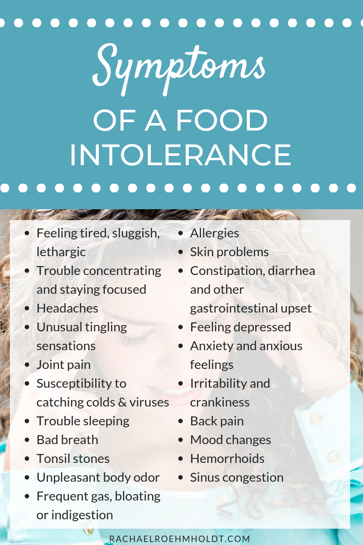 What are the symptoms of a food intolerance or food sensitivity? Check out this food intolerance and food sensitivity chart where we discuss 21 symptoms that could be caused by food intolerances.