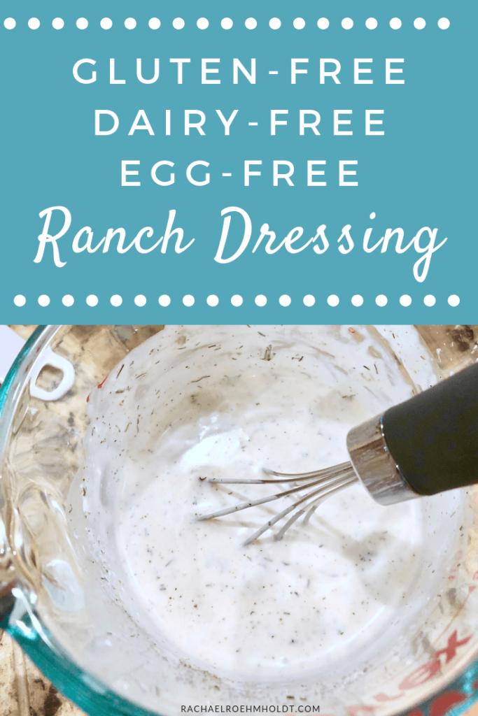 Gluten-free Dairy-free Egg-free Ranch Dressing