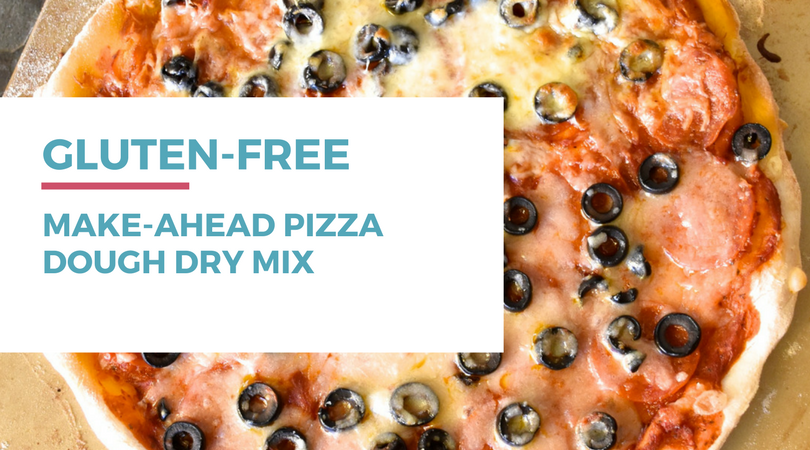 Gluten-free Dairy-free Pizza: Make-ahead Pizza Dough Dry Mix