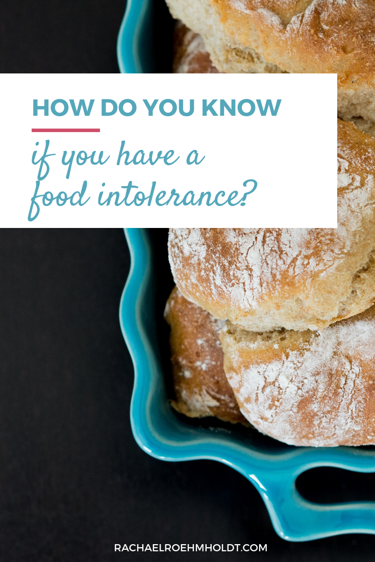 how to tell if you have a food intolerance