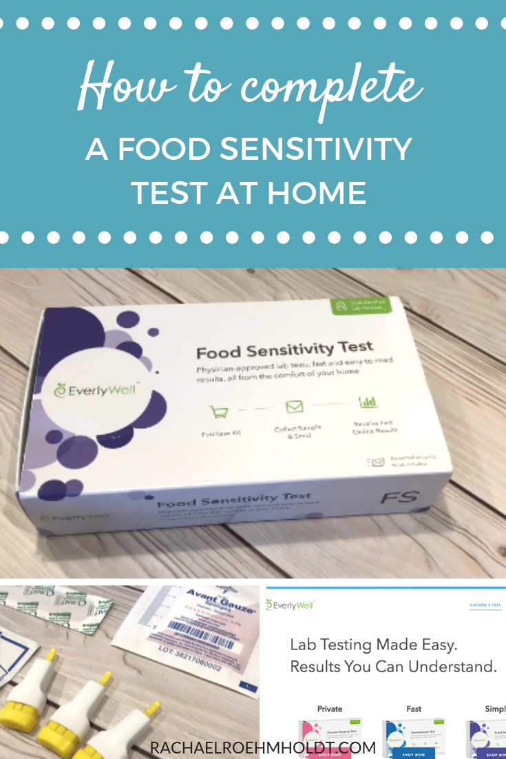 Find out how to complete a food sensitivity or food intolerance test at home using this step-by-step process and these six easy steps.