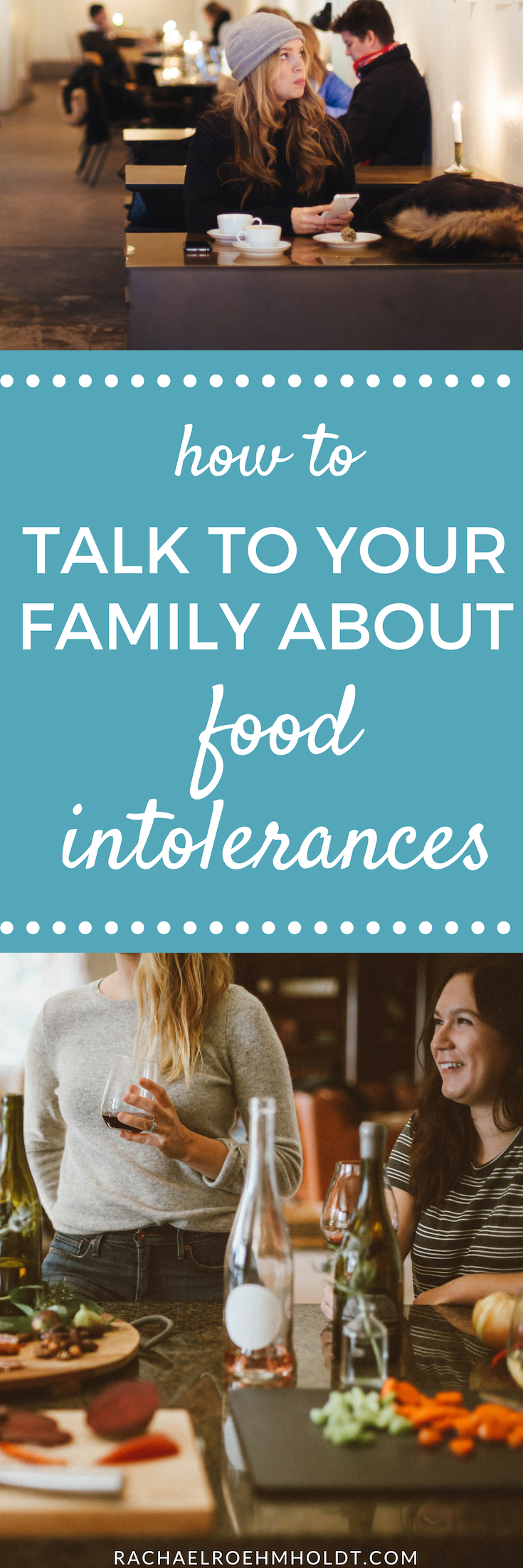 If you just learned about newly discovered food intolerances, you might be wondering how to talk to your family about them, especially around family meals and dinners. Check out this post to learn just how to tackle on these tricky conversations.