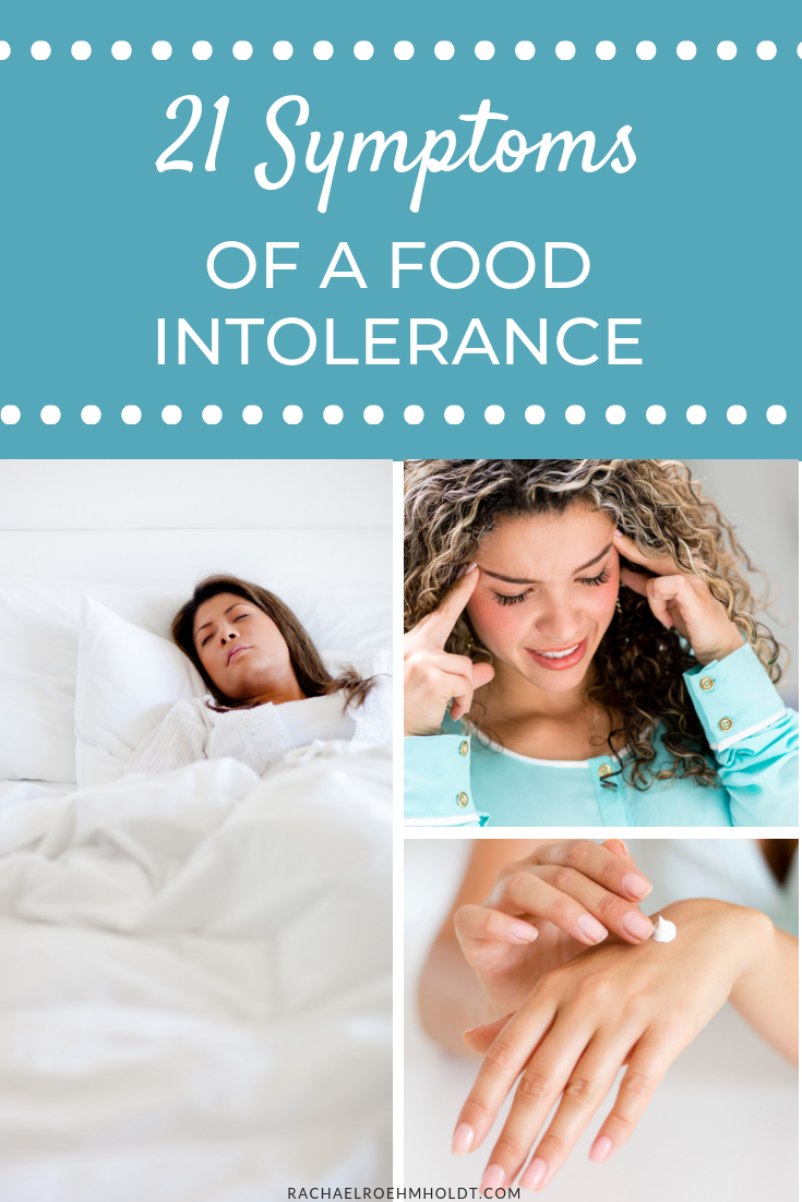 What are the symptoms of a food intolerance or food sensitivity? Check out this post where we discuss 21 symptoms that could be caused by food intolerances.