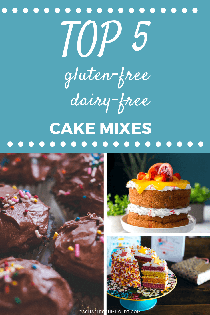Top 5 Gluten-free Dairy-free Cake and Cupcake Mixes