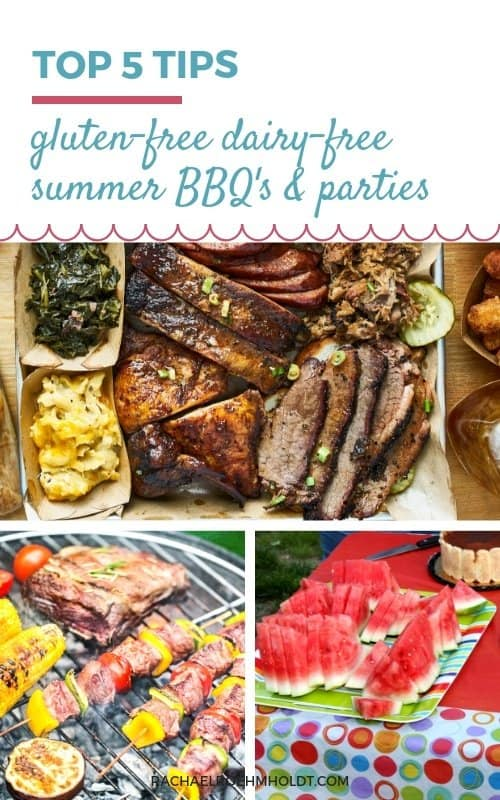 Top 5 Tips for Gluten and Dairy-free Summer BBQ's