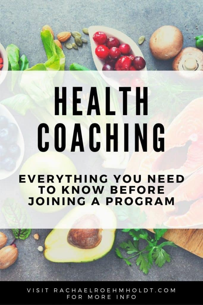 Holistic health coaching - everything you need to know before joining a program