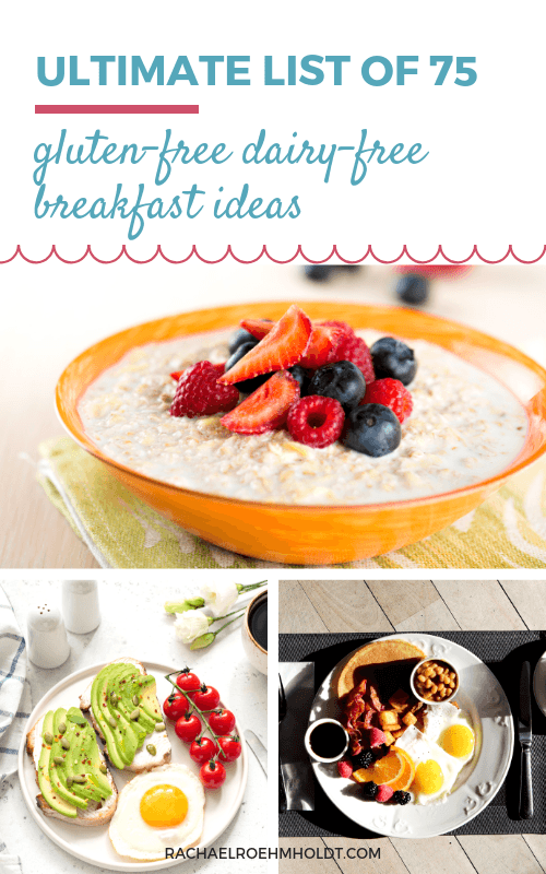 Start your day off right with these 75 gluten-free dairy-free breakfast ideas in the Ultimate Gluten-free Dairy-free Breakfast Guide.